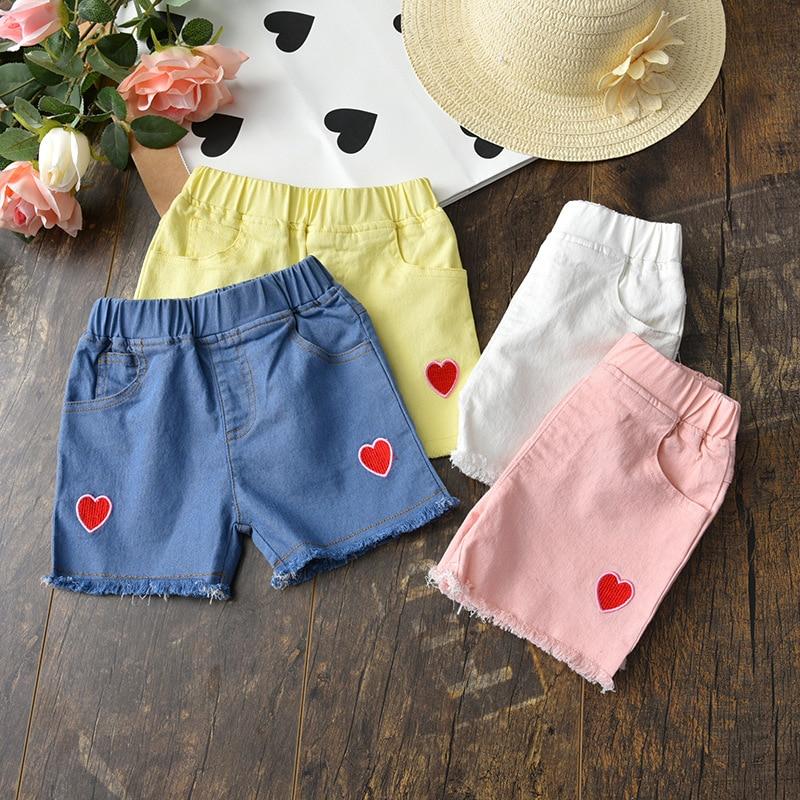 2-6y Baby Mädchen Shorts 2019 Sommer Weibliche Kinder Kleidung Strand Shorts Casual Baumwolle Kurze Hosen Pantalones Cortos Chicas Auswahlmaterialien