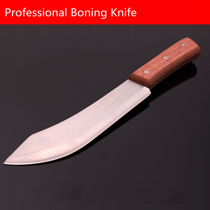Free Shipping DEFAM Forged Stainless Steel Kitchen Boning Knife Slaughter Butcher Knives Eviscerate Meat Bone Butcher