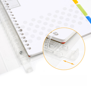 Image 2 - KOKUYO מחברת פסטל קוקי סגנון אישי יומן מתכנן טבעת בינדר הערה נתלשים תזכיר Pad מתכנן יומי A4 A5 b5