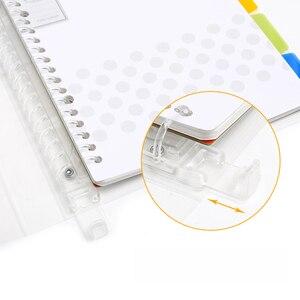 Image 2 - Kokuyo Notebook Pastel Cookie Stijl Persoonlijk Dagboek Planner Ringband Note Losbladige Memo Pad Dagelijkse Planner A4 A5 b5