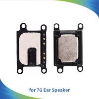 Altavoz del oído para el iPhone 7 7g 4.7 pulgadas alta calidad piezas de reparación del cable de la flexión del receptor del auricular que escucha el envío libre