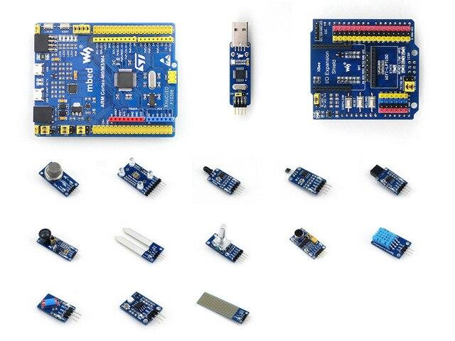 STM32 STM32F103RBT6 ARM Cortex M3 Совет По Развитию Совместимо с NUCLEO-F103RB Датчиков + Пакет + IO Расширение Щит