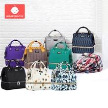 купить Multifunction Diaper Bag Mummy Maternity Baby Nappy Bags Handbag Waterproof Insulation Travel Backpack Nursing Bag for Baby Care по цене 1626.98 рублей