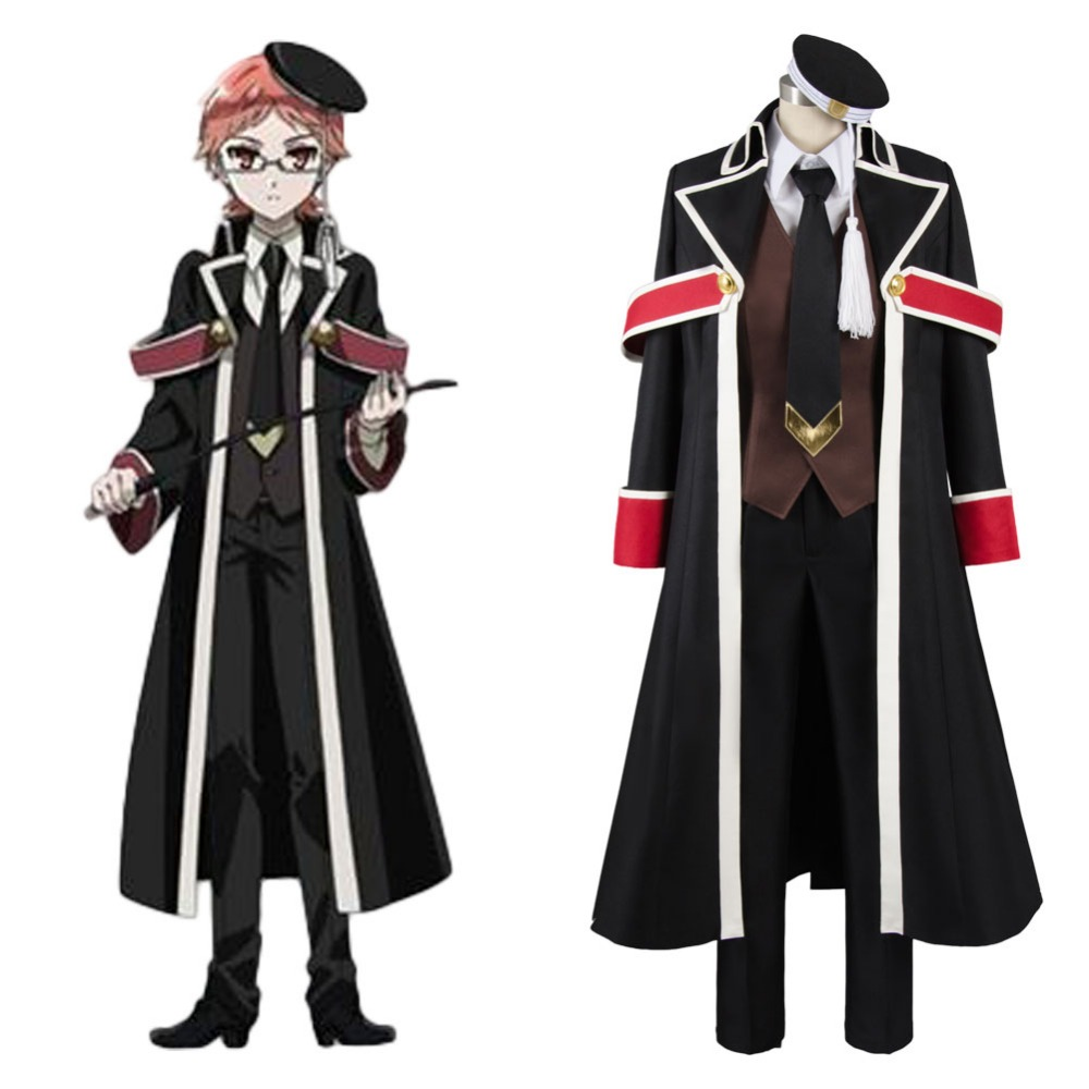 High Quality The Royal Tutor Heine Wittgenstein Uniform Cosplay Costume Full Set Free Shipping