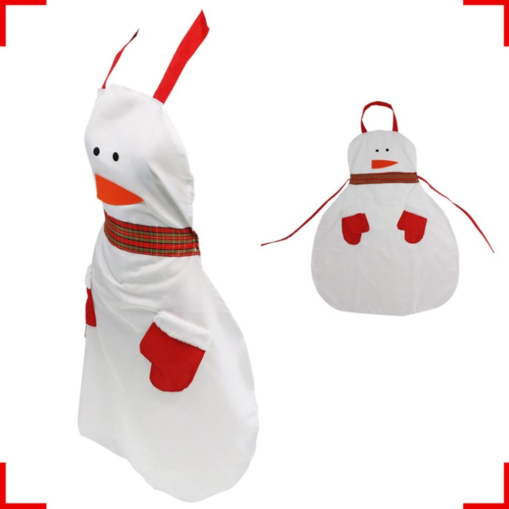 Christmas <font><b>Apron</b></font> Decoration for home for women Snowman Santa Spoof <font><b>Sexy</b></font> Novelty Party men <font><b>Kitchen</b></font> Cooking BBQ Bar Funny Freeship image