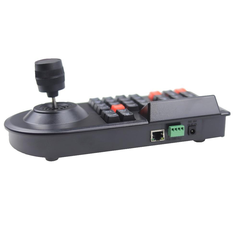 Image 4 - GZGMET 64 zestaw CCTV analogowa kamera sieciowa uchwyt Joystick DVR PTZ 3D RS485 prędkość kopuła pelco d/P kontroler kamery klawiaturakeyboard keyboardptz rs485keyboard controller -