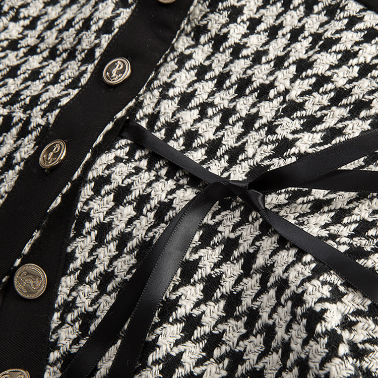 Negro De Con Cinturón Tipo Y Celosía Lana Forked Terciopelo Primavera Blanco La Sling Chickbird 2019 Fuera Recibir Cintura Nuevo Para ZRI5nwqPq