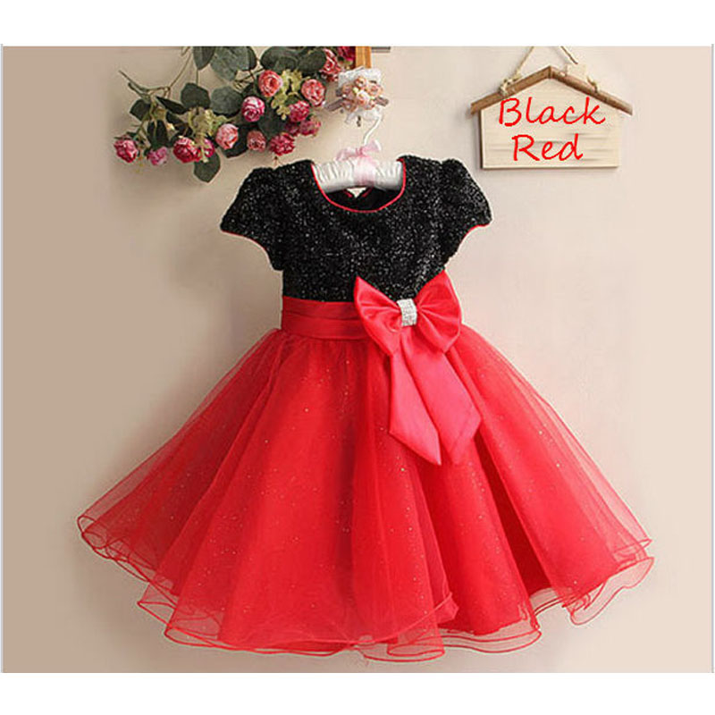 Baby Girl Clothes Summer New Short Sleeved Dress Fashion Lace Evening Dress 2 8 Age Children Clothing 2018 Hot Sale Baby Clothes in Dresses from Mother Kids