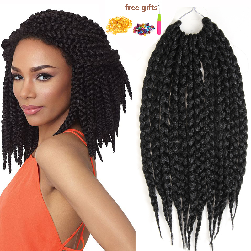 Box Braids Hair Extension Senegalese Twist Hair Expression Braiding