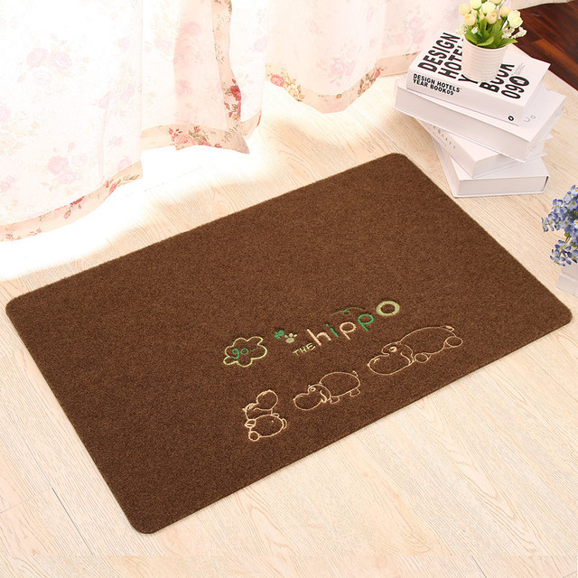 Door mat bedroom bathroom kitchen mats foyer absorbent mat antiskid mat custom carpet & Door mat bedroom bathroom kitchen mats foyer absorbent mat antiskid ...