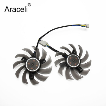 2pcs/lot PLD08010S12H Cooler Fan For ASUS MSI GTX 1050 TI Radeon Sapphire 6930 7850 GTX 550 750 770 Ti HD7870 Video Card Cooling image