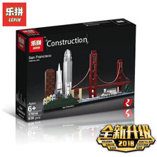 NEW LEPIN 17014 Sans Franciscoes Compatible With Legoing 21043 Set Building Blocks Bricks Educational Toys Birthday DIY Gifts(China)