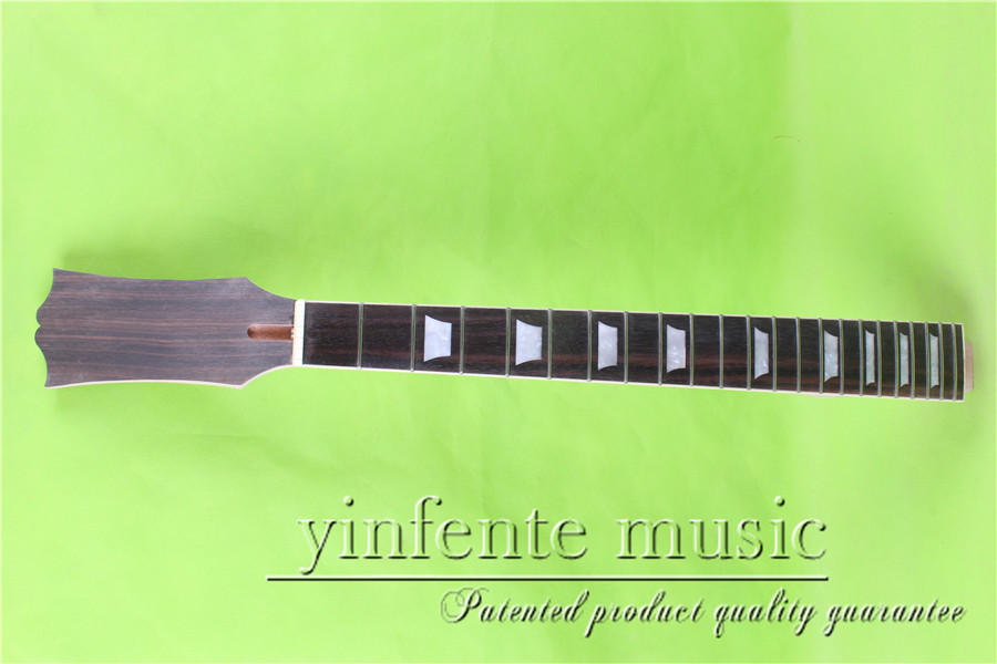 Electric guitar neck rosewood    fingerboard  L -00128#    24.75   unfinished fine quality  22 fret s 00166 25 5 big head electric guitar neck fine quality rosewood fingerboard 22 fret