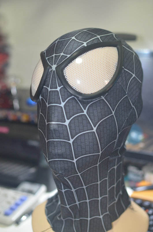 black spiderman mask - photo #24
