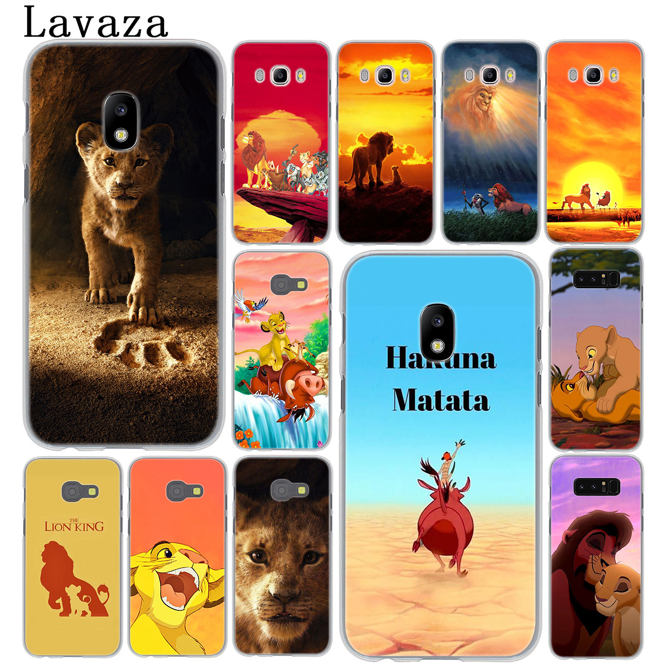 Lavaza Cartoon The lion king Cute <font><b>Phone</b></font> <font><b>Case</b></font> for <font><b>Samsung</b></font> <font><b>Galaxy</b></font> J8 J7 Duo J6 <font><b>J5</b></font> J4 Plus 2018 2017 <font><b>2016</b></font> J2 J3 Prime 2015 Cover image