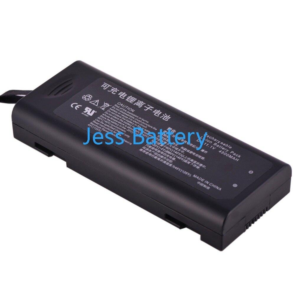 4500 mAH nova Bateria Monitor de Sinais Vitais para Mindray T5 T6 T8 M05-010002-6 LI23S002A 022-000008-00 115-018012-00 31XR19/65-2