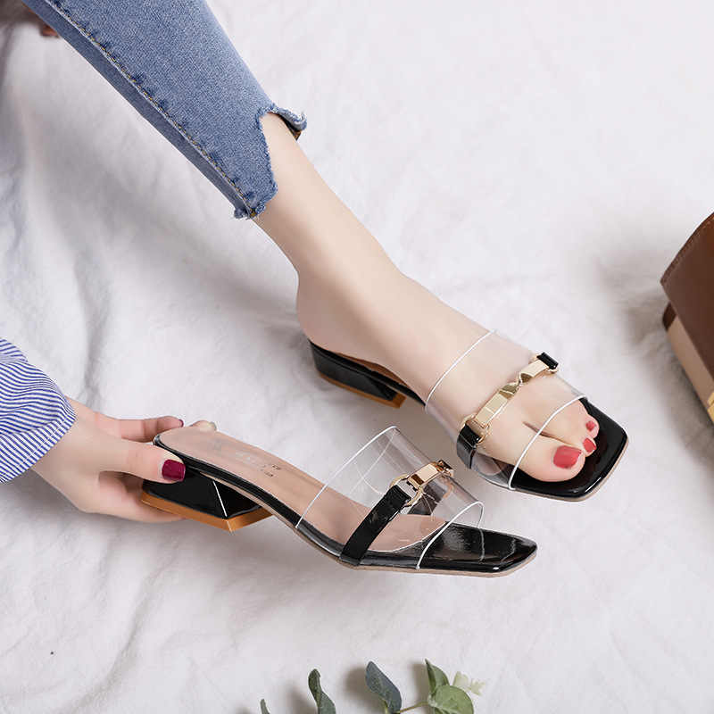 Womens Flip Flops Shoes Bling Platform Wedge Heel Slingback Sandals US Size S171