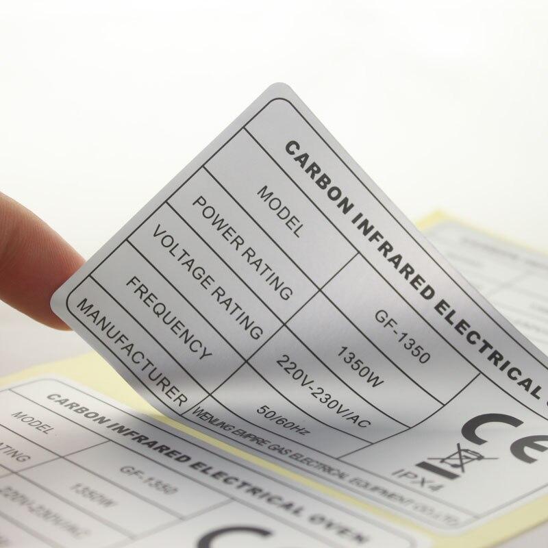 Personnalisé de menthe pour être mariage faveurs Autocollants Métallique Argent Or étiquettes