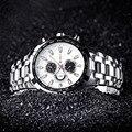 2017 nueva saat superior de lujo marca curren relojes hombres de negocios de acero inoxidable reloj de cuarzo simple reloj de pulsera ocasional horloge mannen