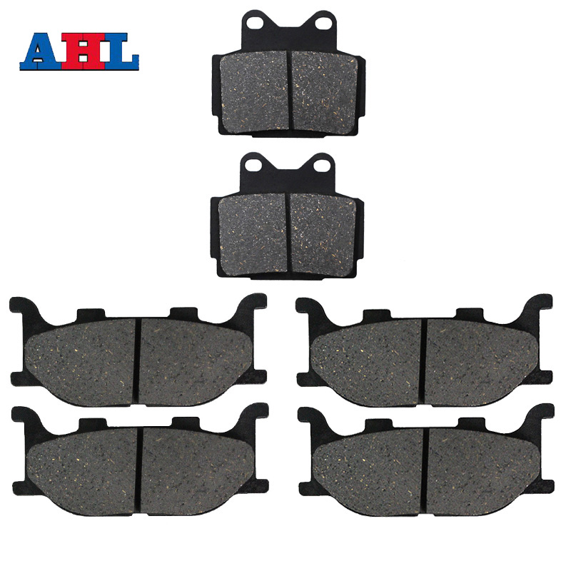 Motorcycle Front Rear Brake Pads For <font><b>YAMAHA</b></font> XJ600S Diversion XJ600N <font><b>XJ600</b></font> XJ 600 S N 600S 600N 1998 1999 2000 2001 2002 2003 image