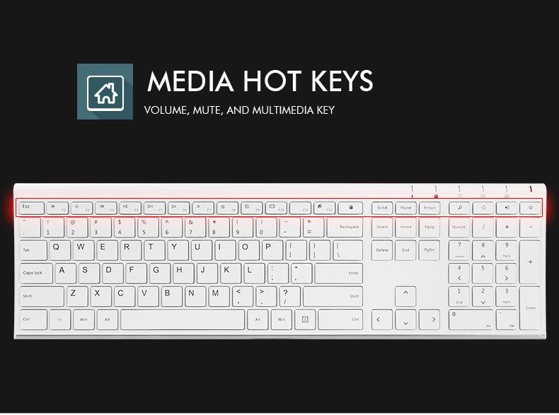 B.O.W Ultra thin Metal wireless Slim keyboard B.O.W Ultra thin Metal wireless Slim keyboard HTB1ItH9SXXXXXXVXpXXq6xXFXXXF