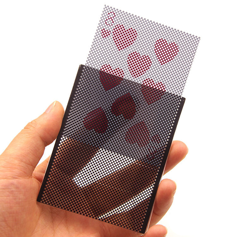 8.9*7CM Poker Cards Show Magic Trick Props Fun Party Stage Close Up Magic Trick Tricks Playing Party Card Gaming Pokers