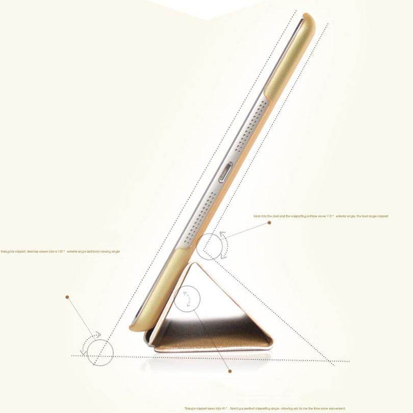 Najnoviji luksuzni stalak kožna torbica za ipad mini 4/3/2/1 pametni - Dodaci za tablet - Foto 4