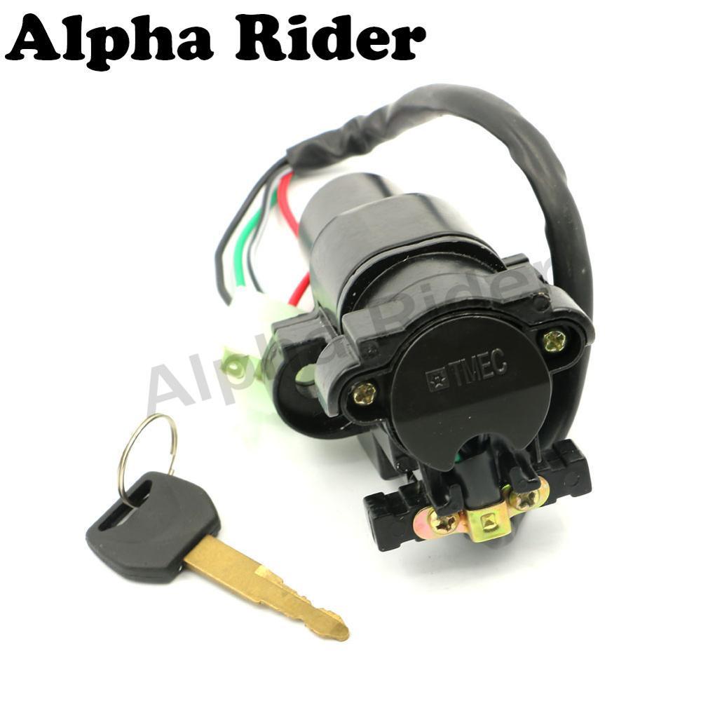 Motorcycle Ignition Switch Lock Key Set For Honda Cbr600 F4i 2001