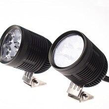 Мотоцикл led свет/Прожектор 4* U2 светодиодный чип 40 Вт 4400 люменов, водонепроницаемый фонарь мотоциклетная ведущая легкая автомобиля. SUV. ATV. Лодка