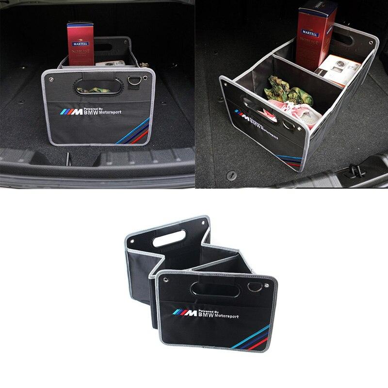 1pcs Large Capacity Vehicle Storage Box for bmw m performance emblem E46 E92 E93 F30 F10