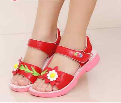 ילדים חדשים קיץ לפעוטות הבוהן סנדלי בני אורטופדי וו לולאה סגור נעלי ספורט נעלי סנדלי בני תינוק עור pu