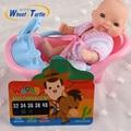 Hot Sale 2016 Bonito Dos Desenhos Animados LCD Temperatura Infantil Banheira Bebê Tester Temperatura Termômetro Água Toy Crianças Temperatura