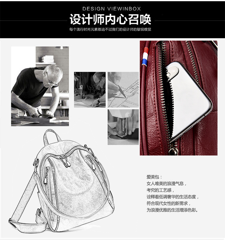 b3a89c7436e3 HTB1ItIEdBcXBuNjt Xoq6xIwFXas 2018 New High Quality PU Leather Women  Backpack Casual Covertible Shoulder Bags Fashion Backpacks Female