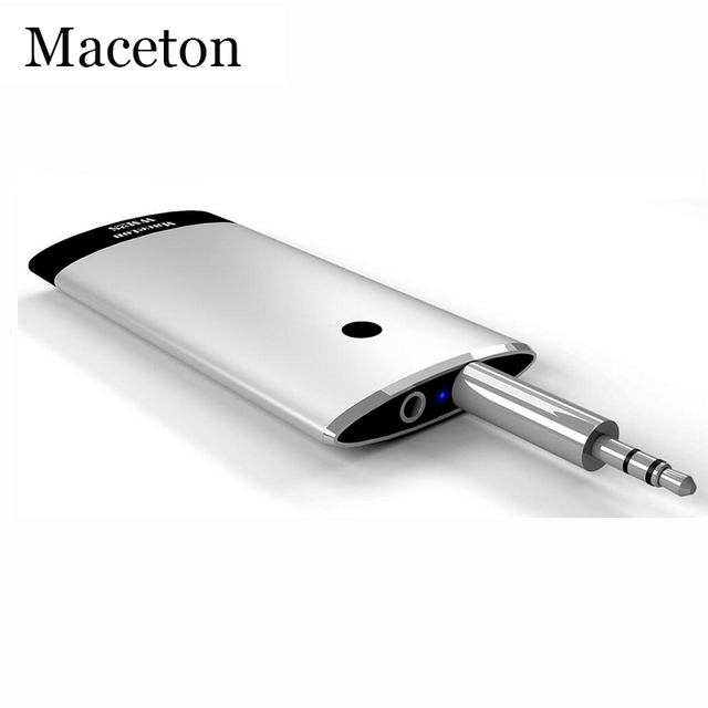 Maceton Inalámbrica Bluetooth Receptor de Audio Del Coche 4.1 3.5mm Adaptador Audio Música Adaptador Bluetooth APT-X Auriculares Bluetooth Coche
