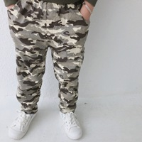 2018 Winter Boys Pants Children Casual Camouflage Trousers Kids Clothes Toddler Winter Clothes Camouflage Pants for Baby Clothes