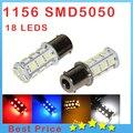 1PCS 1156 382 BA15S p21w 1157 BAY15D p21/5w bay15d PY21W led light bulb 18 smd 5050 Brake Tail Turn Signal Light Bulb Lamp 12V