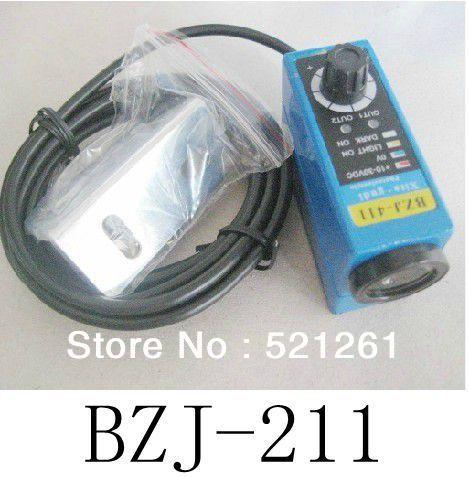BZJ-211 Photoelectric switch color sensor colour sensor switch transducer bzj 411 pnp photoelectric switch color sensor colour sensor switch transducer