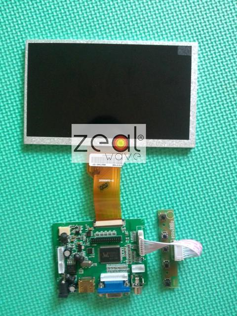 AT070TN92 LCD 7 INCH TFT LCD Module+ HDMI& VGA&2AV A/D Board 800*480 Resolution  CAR PC Display Screen