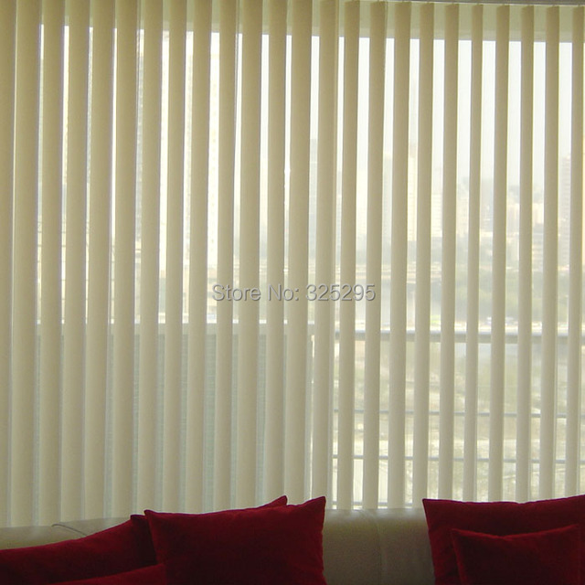 Pvc Plastic Shade Blinds Louver Window Curtain Vertical Curtains Double Open E Series