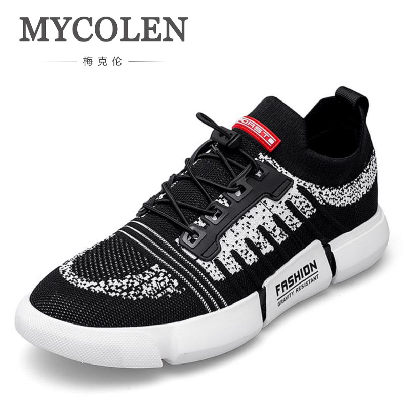 MYCOLEN 2018 Hot Spring Summer Fashion Men Casual Shoes Breathable Comfortable Male Sneakers For Adult High-Quality Men Shoes micro micro 2017 men casual shoes comfortable spring fashion breathable white shoes swallow pattern microfiber shoe yj a081