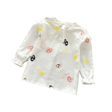 Baby Girls Clothes Long Sleeve Blouse Spring Floral
