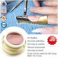 #50951 Free shipping CANNI new 10 colors camouflage semi-transparent color jelly uv builder gel*6pcs