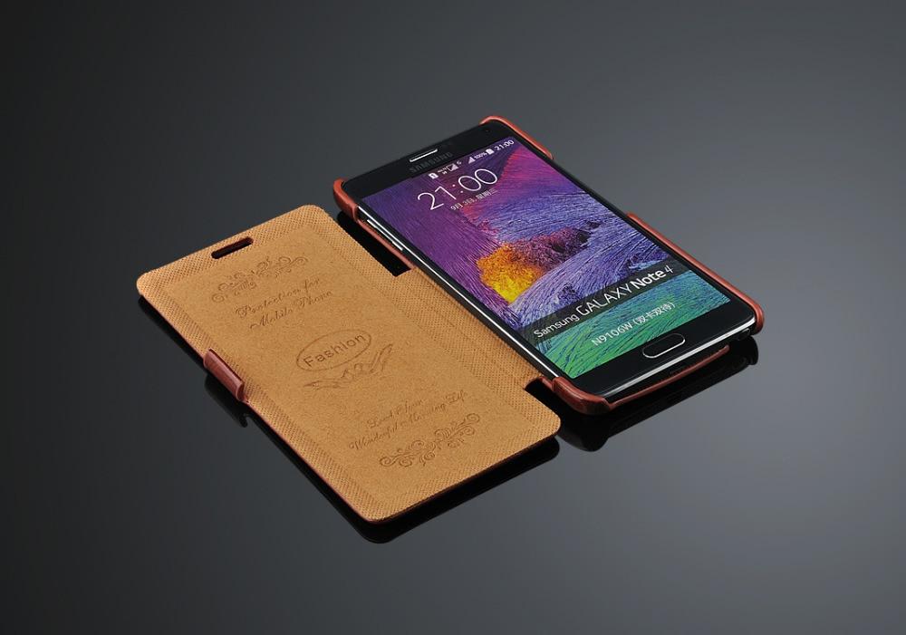 imágenes para Caja Del Teléfono Del Cuero Del Tirón de lujo de LA PU para Samsung Galaxy Note 3 Nota 4 Nota 5 de La Moda Retro Vintga 64 Del Grano de La Contraportada Coque Fudnas