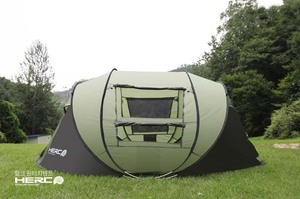 Image 5 - 2020 New Arrival 3 4 Person Ulttralarge Automatic Windproof Pop Up Fast Opening Camping Tent Large Gazebo Beach Tent