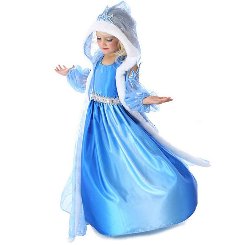 2017 New Kids Anna Elsa Costume Dress For Girls Princess Dresses Children Party Costume Fairy Tales Princess Elsa Dress Cosplay-in Dresses from Mother ...  sc 1 st  AliExpress.com & 2017 New Kids Anna Elsa Costume Dress For Girls Princess Dresses ...