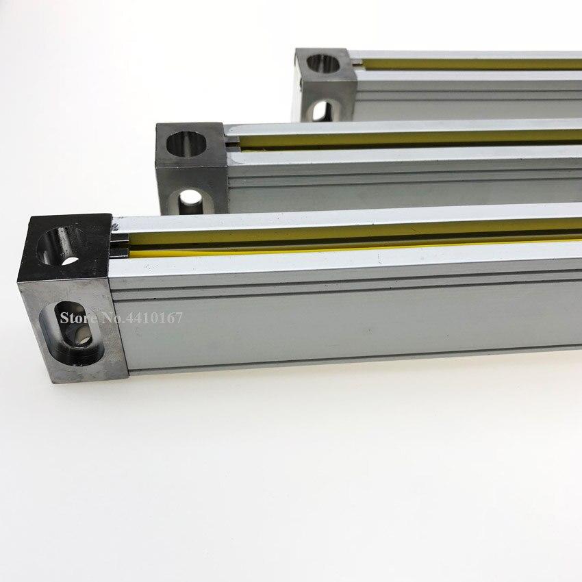 Juego de medidas/Kit Dro Tools JCS900 3AE sistemas de pantalla de visualización con 3 piezas de línea de vidrio óptico de 50mm a 1000mm para todas las máquinas - 4