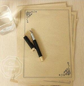 8 Pcslot China Gaya Retro Kertas Surat Vintage Yang Klasik