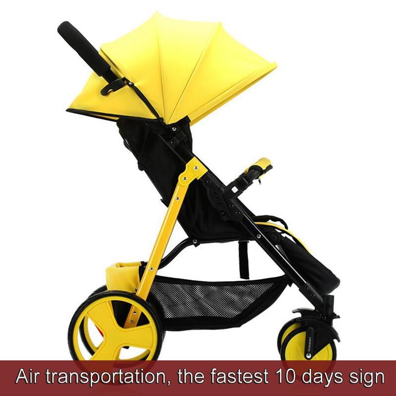 Wózek dziecięcy Sally parasolka zimą i latem z ręki może - Aktywność i sprzęt dla dzieci - Zdjęcie 1