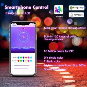 Image 2 - SP110E Bluetooth פיקסל בקר דימר עבור WS2811 WS2812B ws2812 SK6812 RGB RGBW APA102 WS2801 פיקסלים חלום צבע LED הרצועה