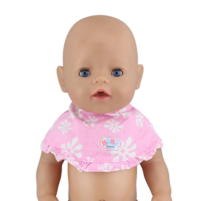 Bibs Fit For 43cm Doll 17 Inch Dolls Accessoires